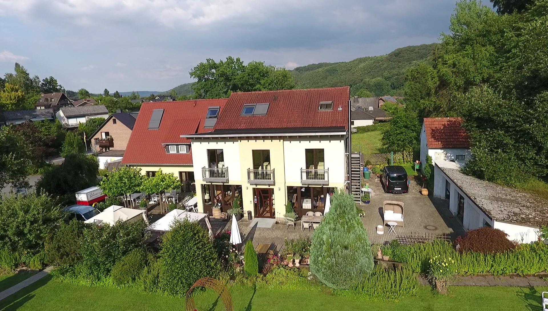 Aussenansicht Landgasthof Mücke in Marsberg