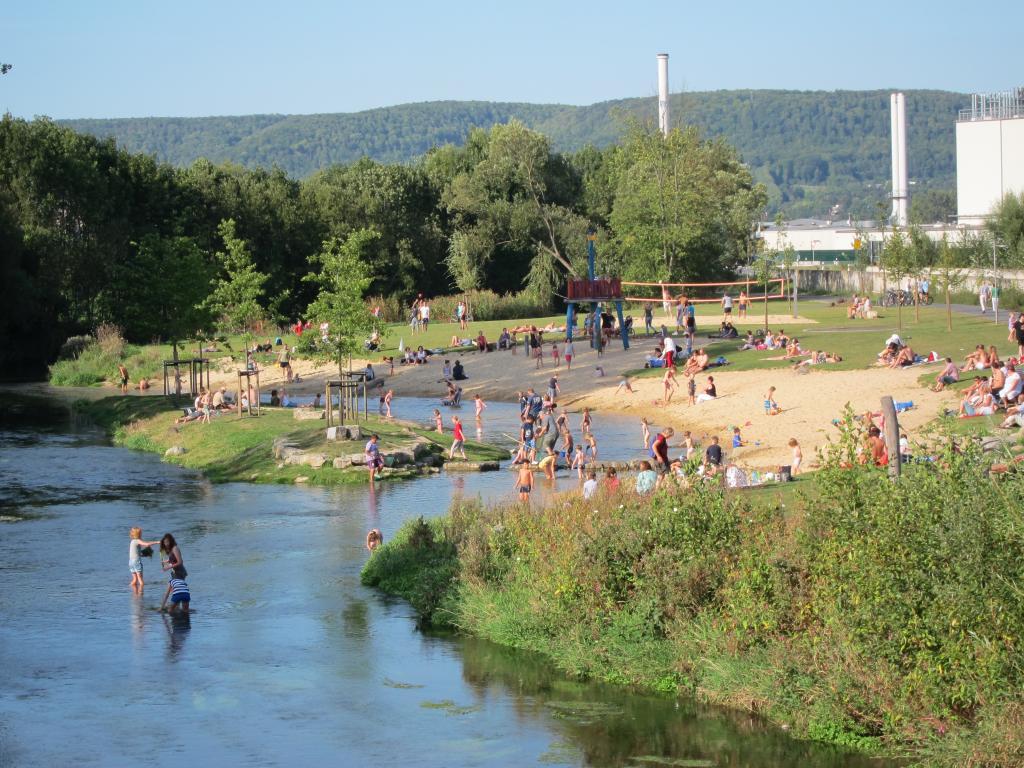 Strand im Emmerauenpark