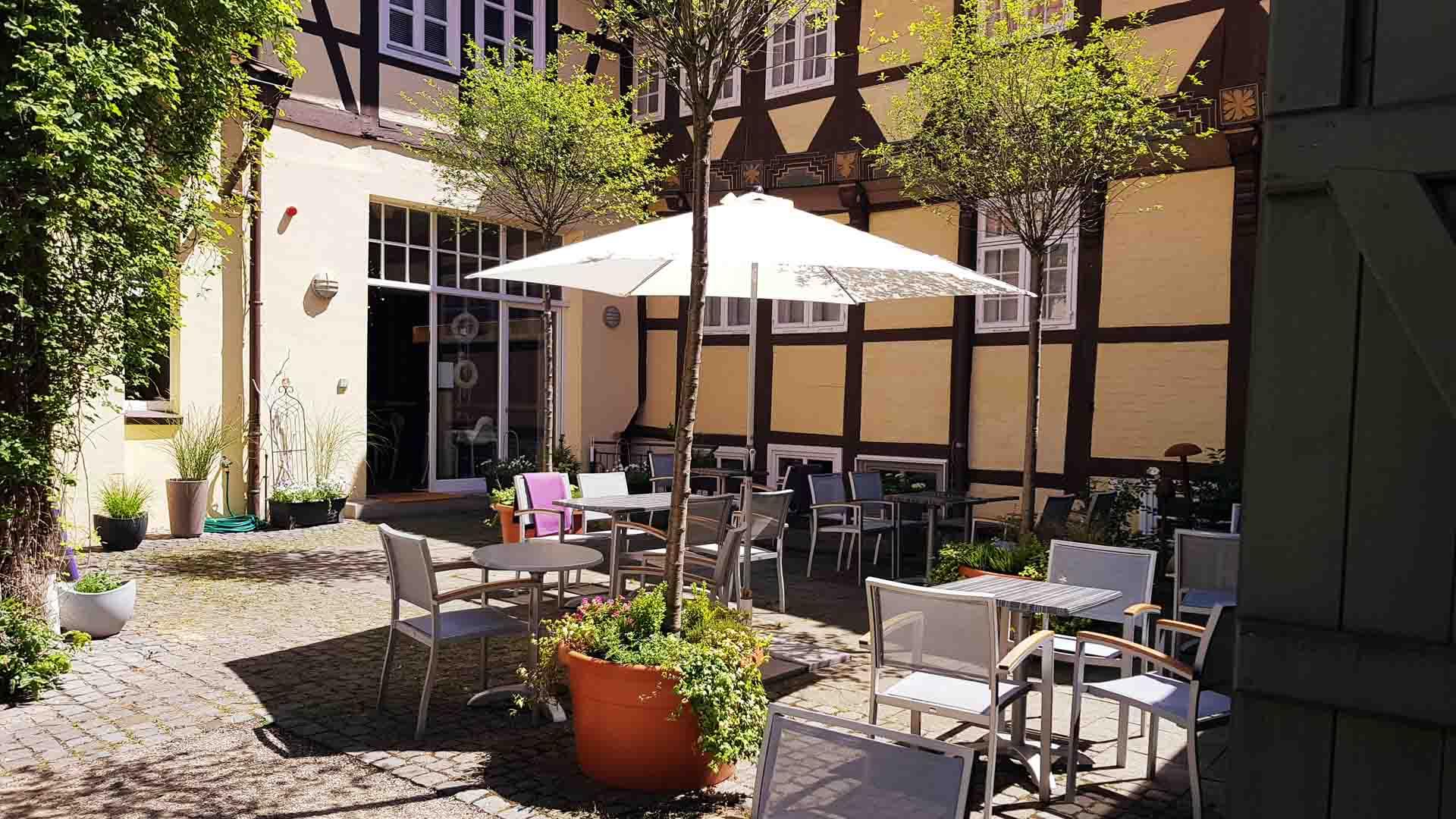 Café Baxmann Celle, Innenhof