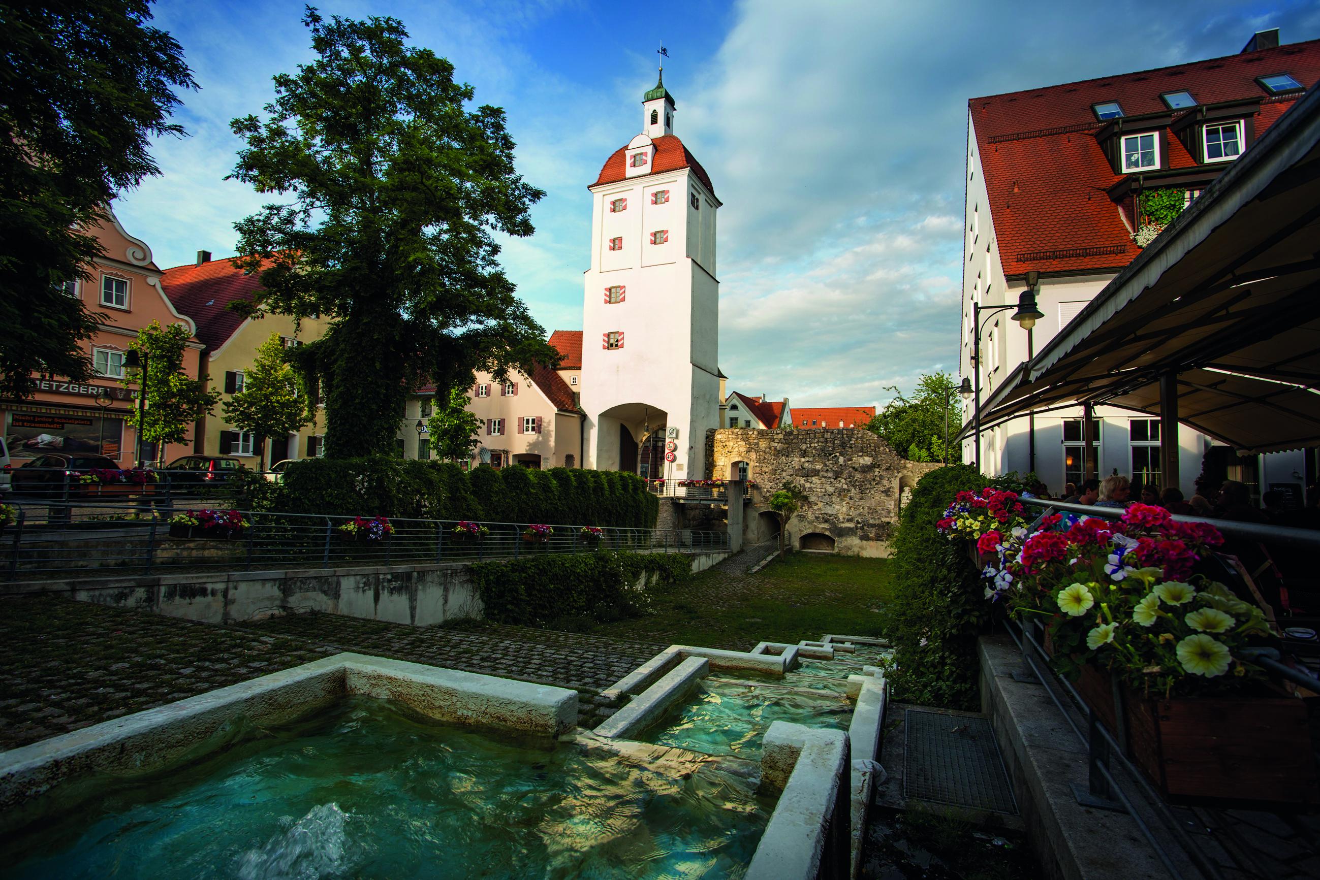 Historische Altstadt in Gundelfingen