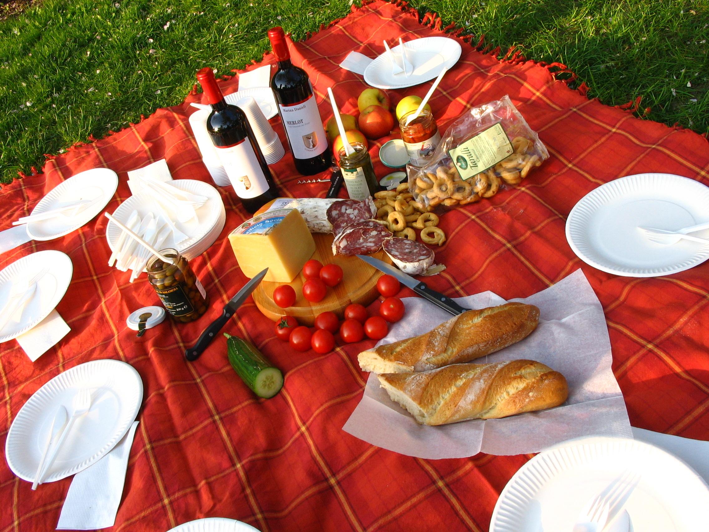 Picknick Kanutour