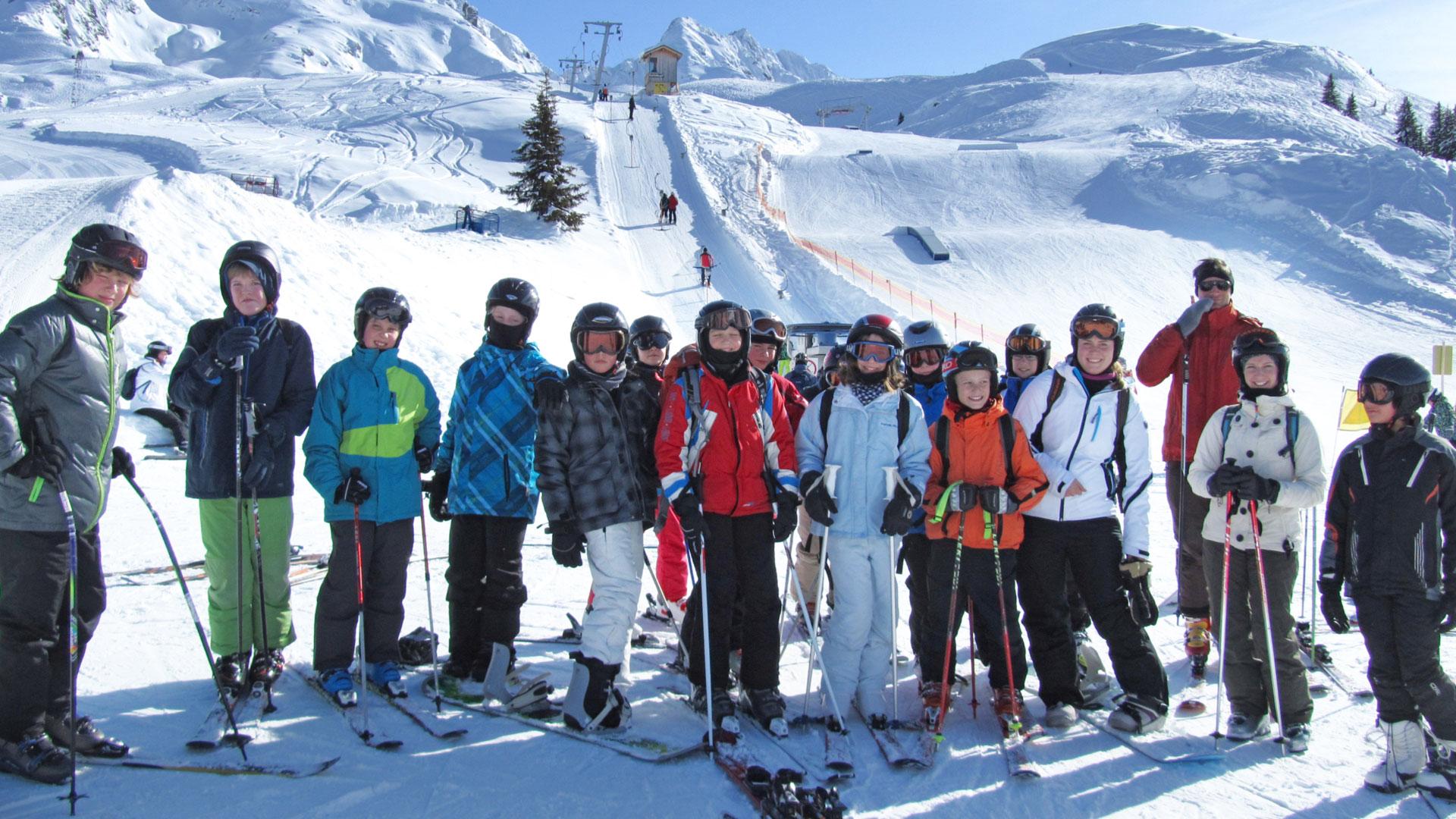 Humboldt-Jugendgästehaus, Skikurs