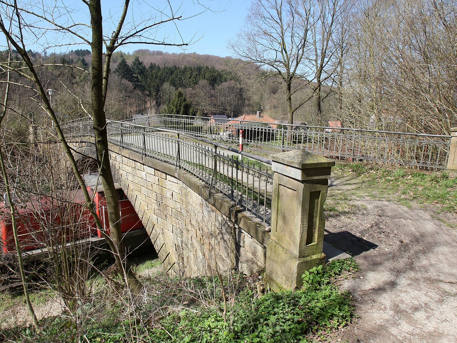 "Eisenbahnbrücke ""Neue Mühle"""