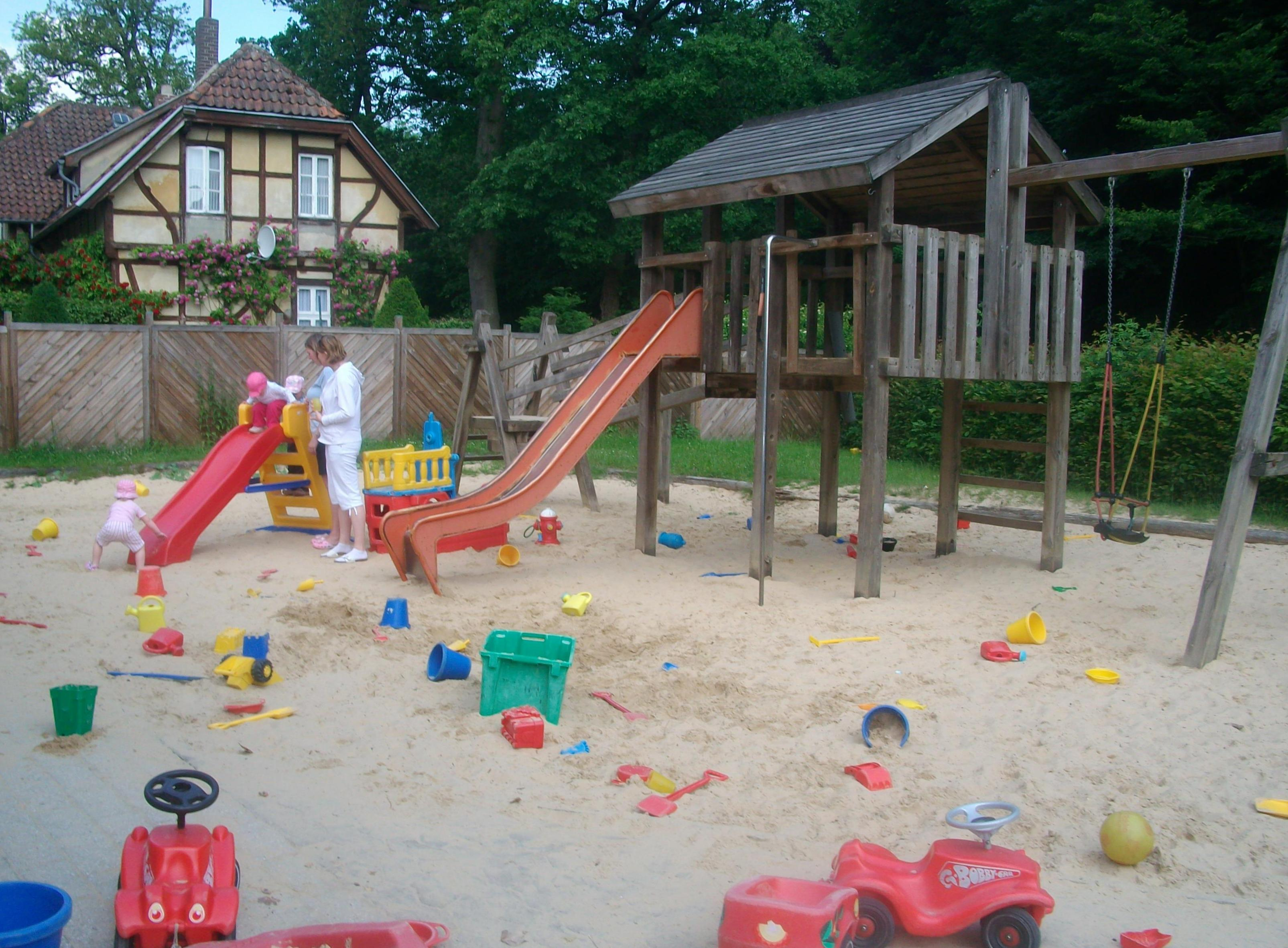 Mutter-Kind Kurhaus, Spielplatz