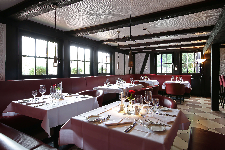 Blick ins Restaurant Alte Mühle