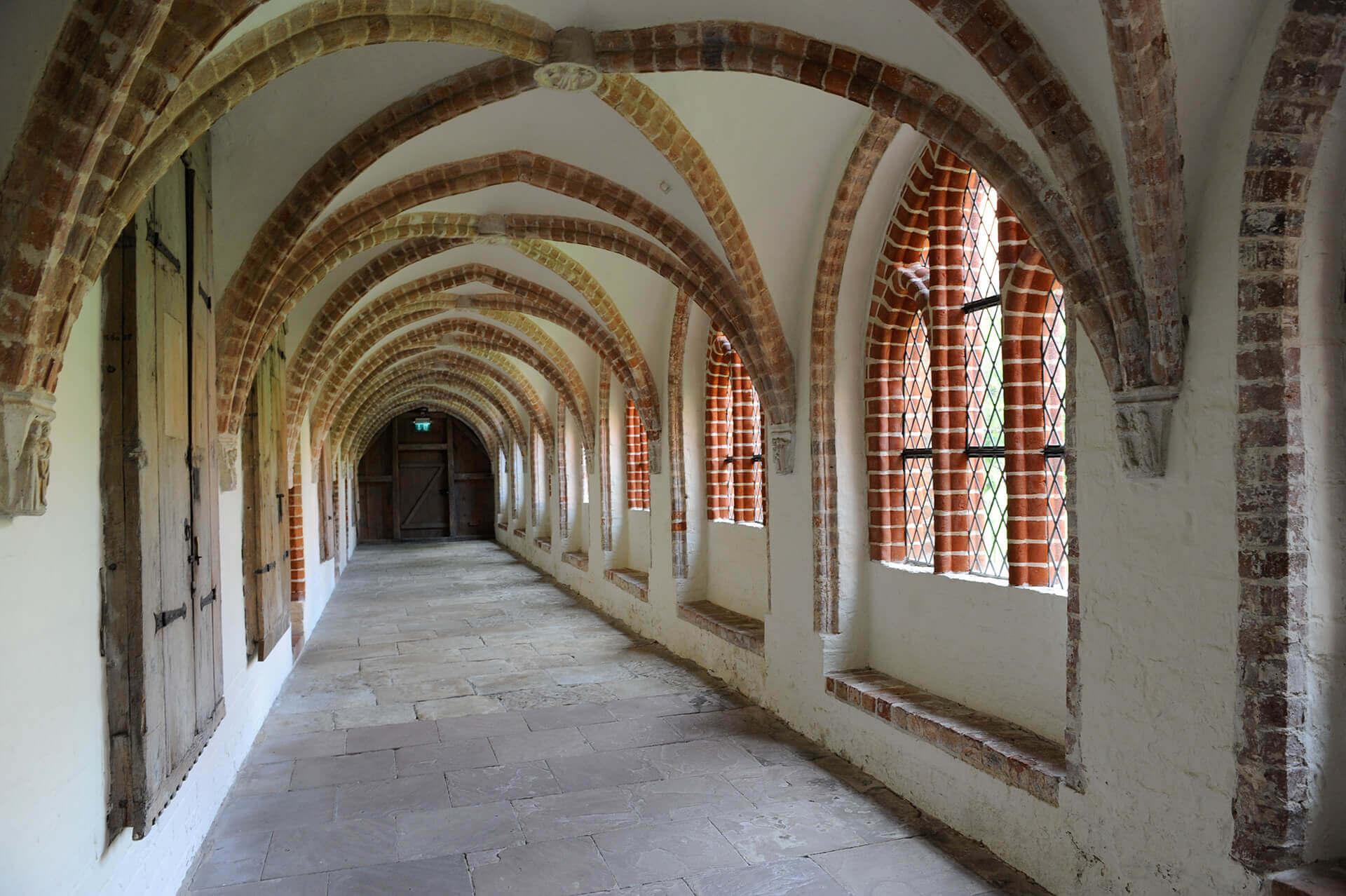 Kreuzgang im Kloster Isenhagen
