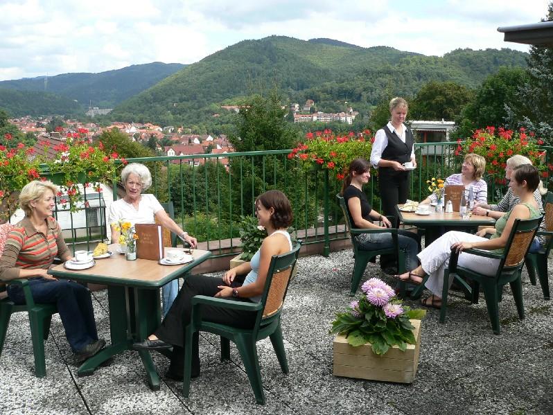 Hotel Heikenberg in Bad Lauterberg - Terrasse