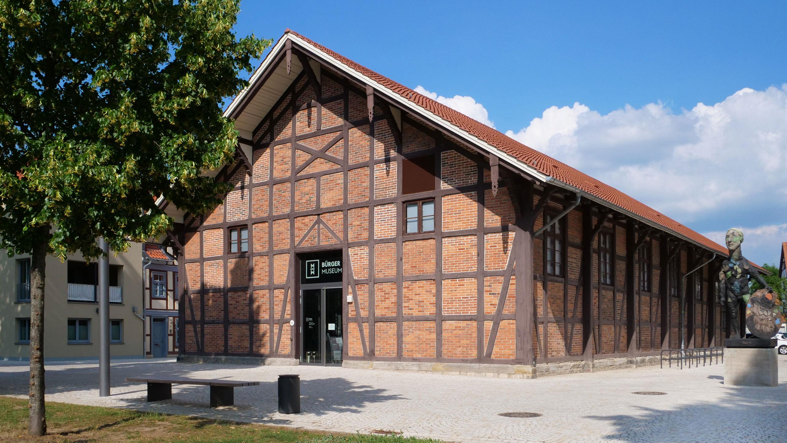 Außenansicht des Bürgermuseums