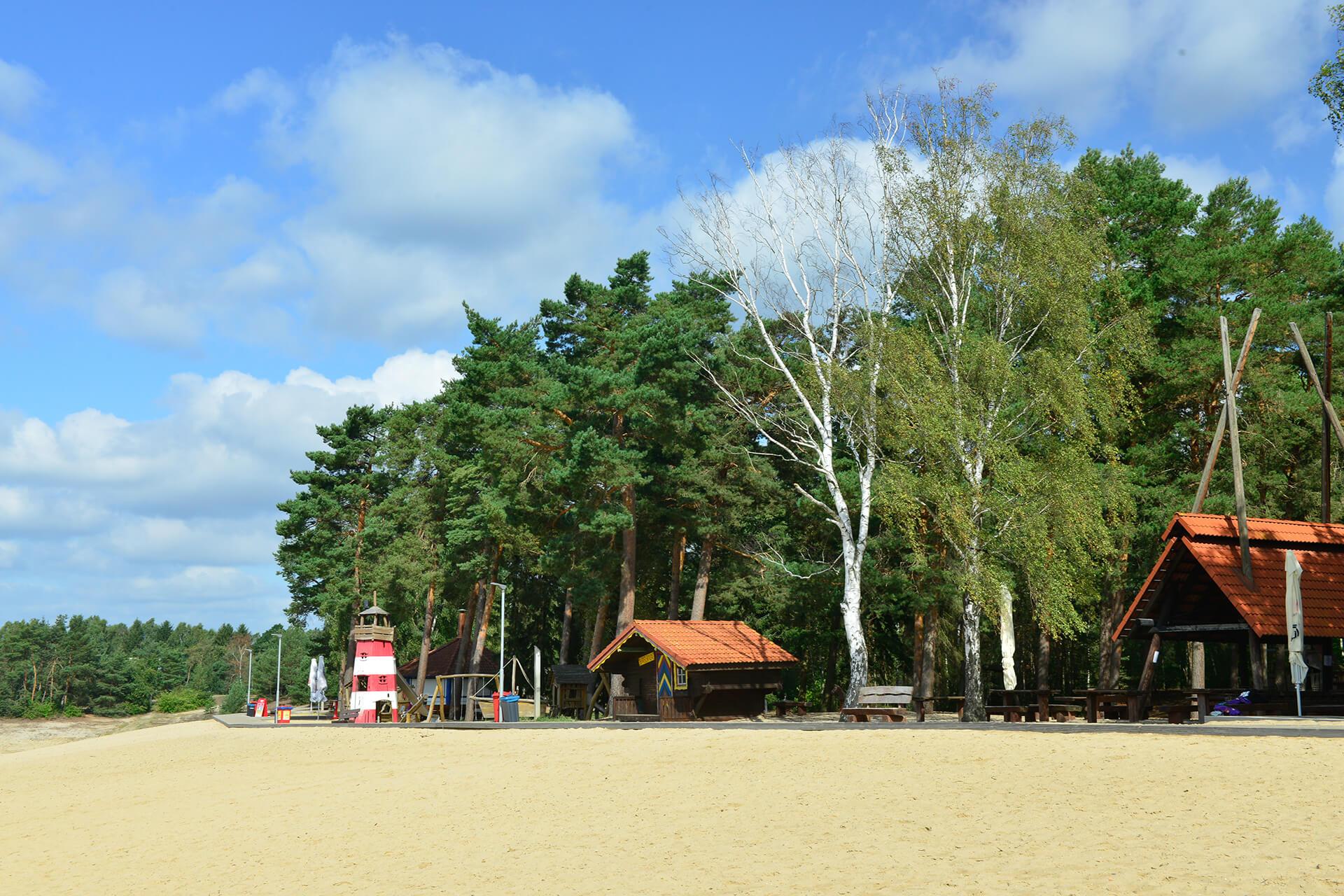 Strand am Bernsteinsee