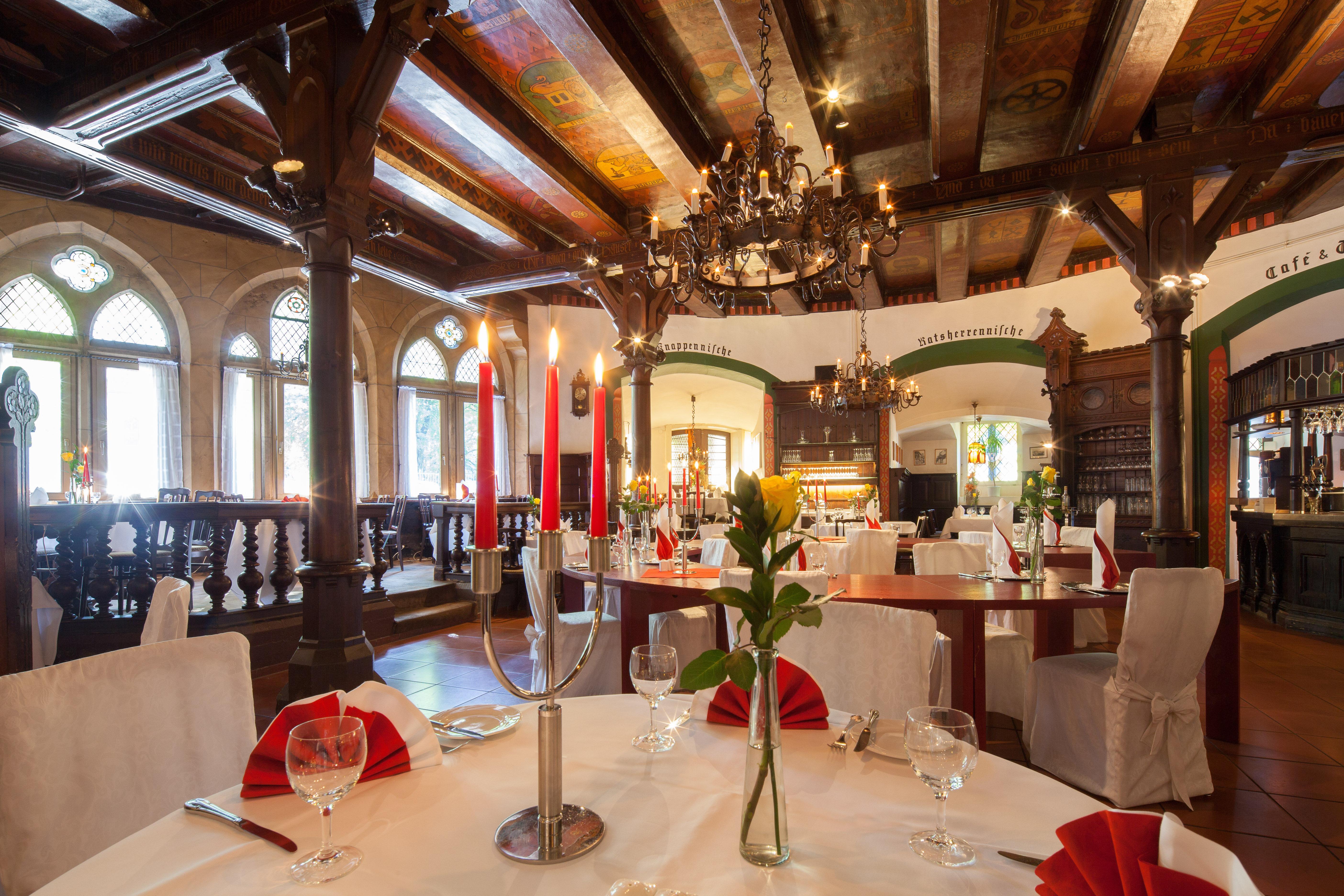 Hotel DER ACHTERMANN in Goslar - Restaurant Altdeutsche Stuben