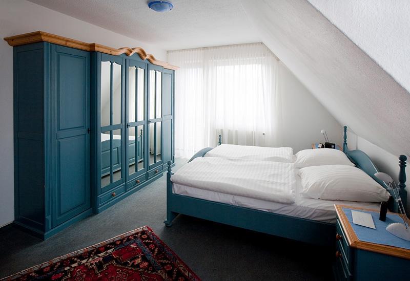 Doppelzimmer in der Pension Grillstübchen Althof