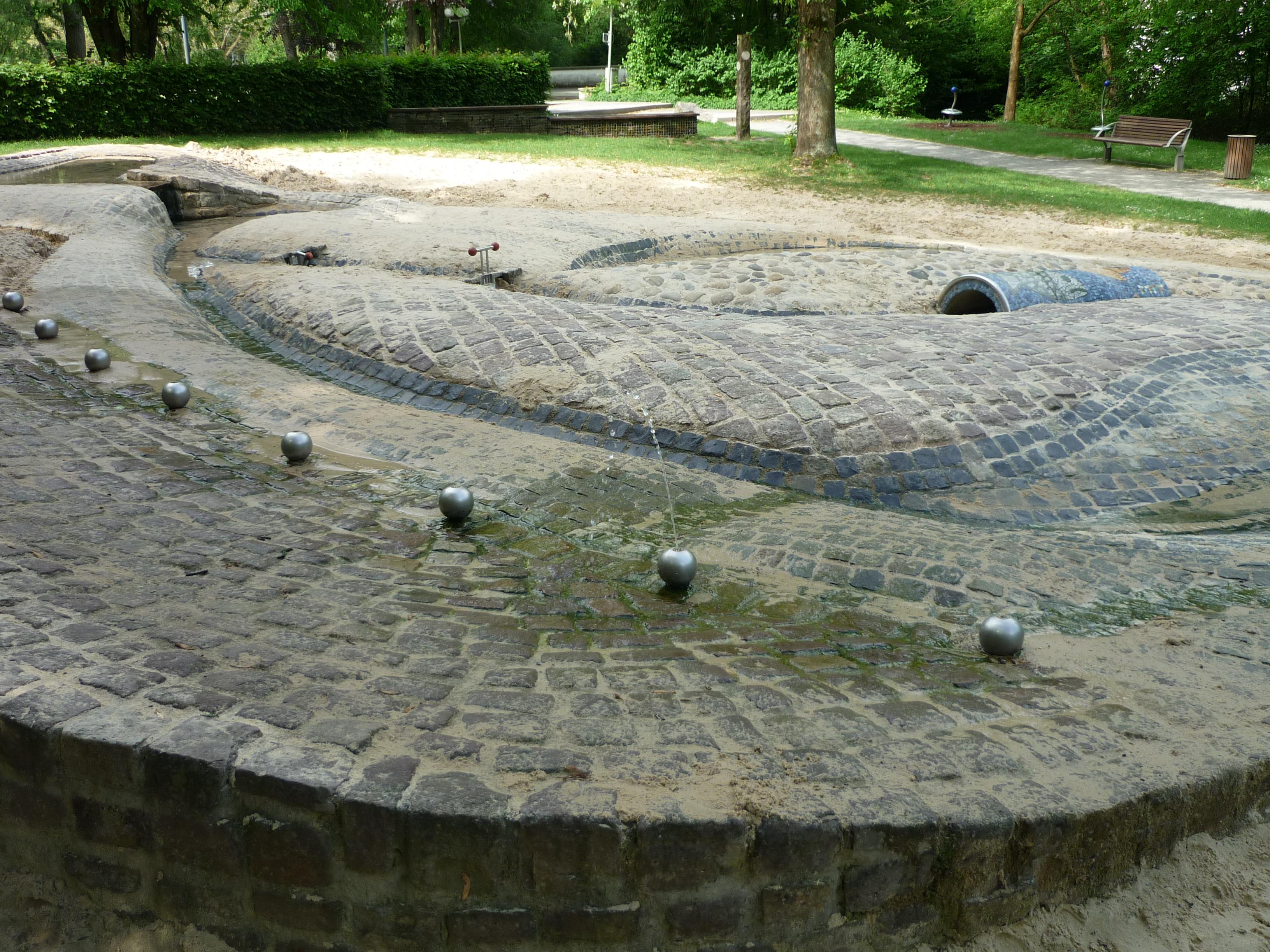 Wasser-Spielplatz Bad Lippspringe