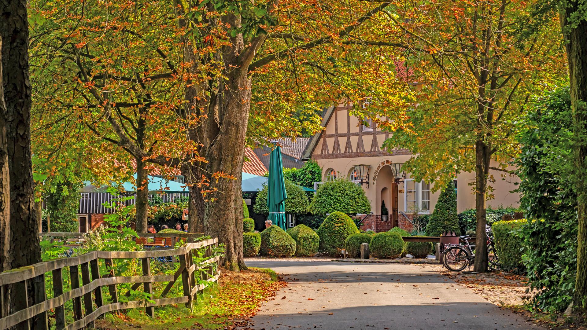 In Kuhmühlen liegt das Hotel Zur Kloster-Mühle ... ein Kleinod mit Qualität