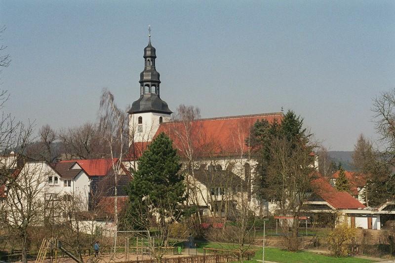 Blick auf die kath. Pfarrkirche
