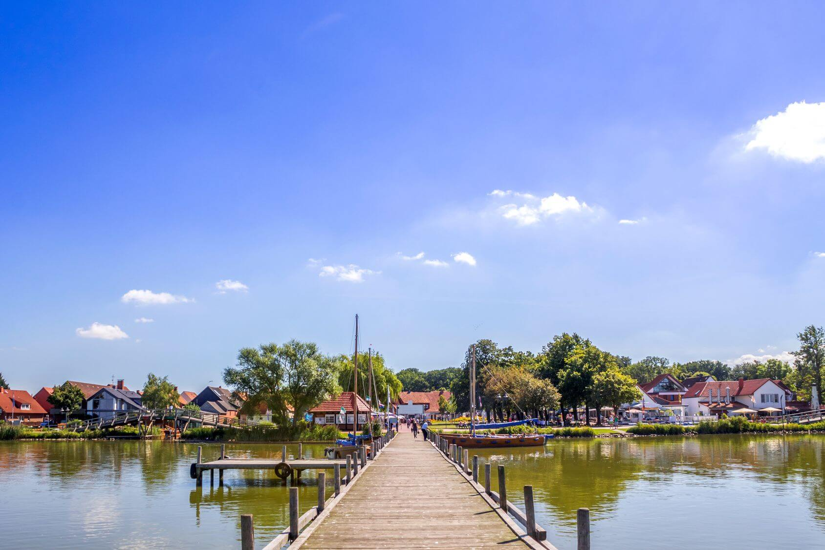 Südufer Blick auf Promenade