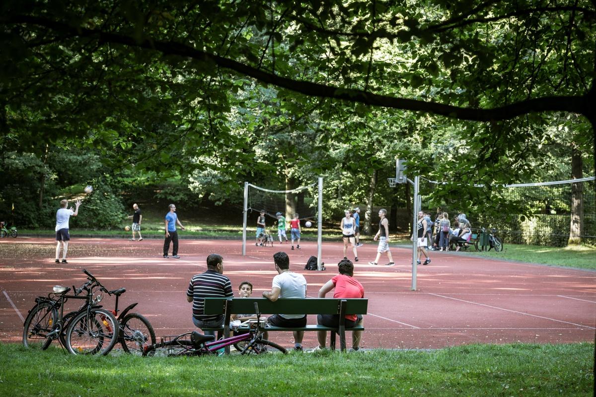 Breites Sportangebot im Mohns Park Gütersloh