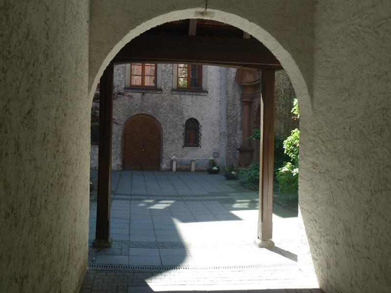 Eingang Michaelskloster