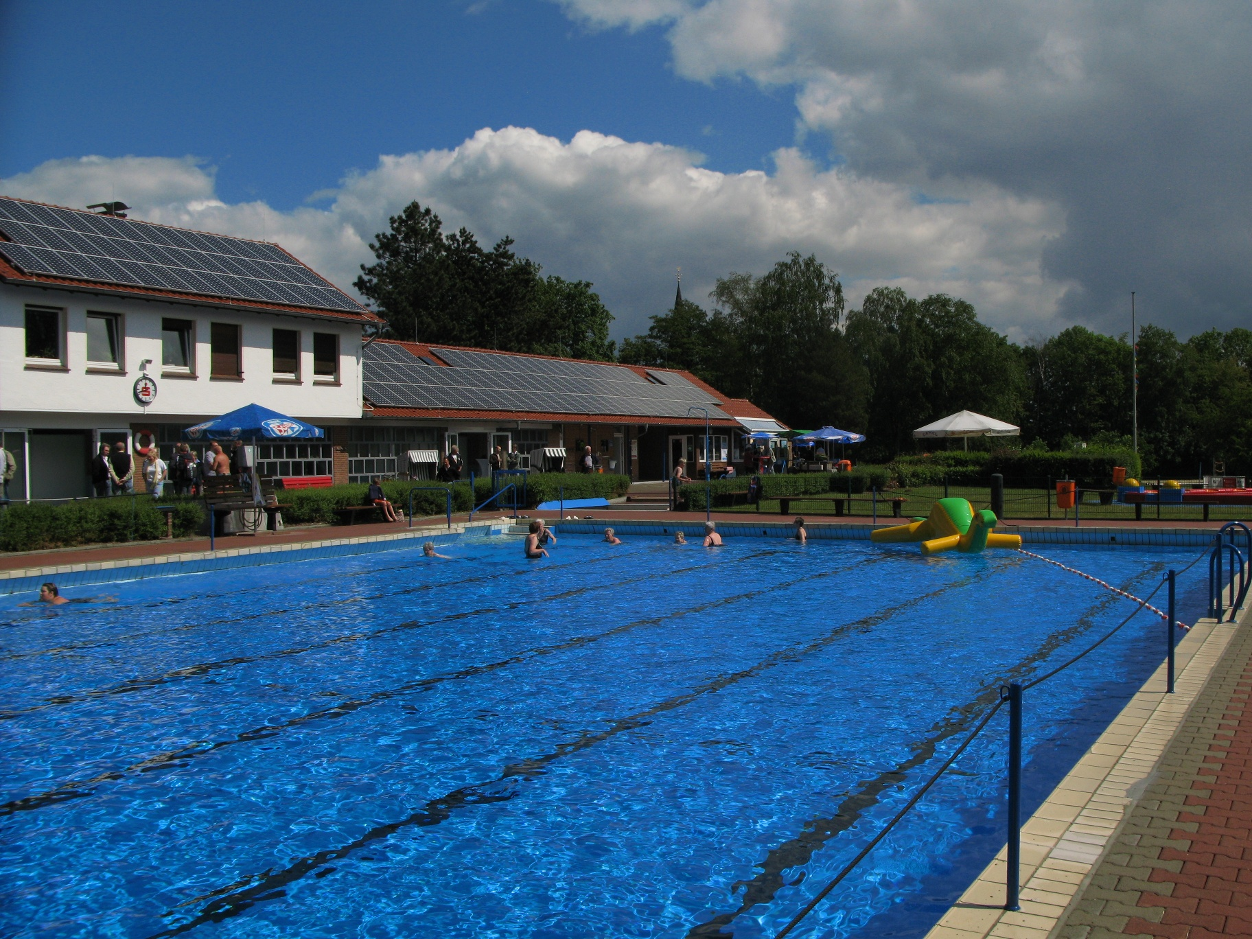 Freibad in Werther (Westf.)