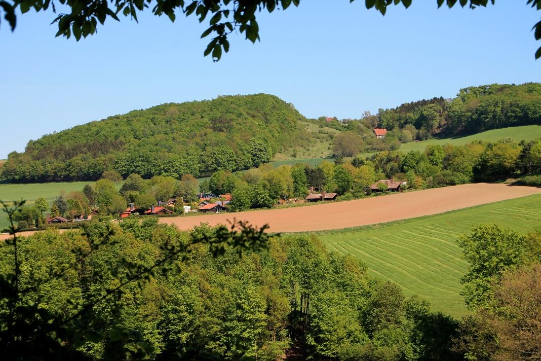 Blick auf den Ferienpark Extertal in Rott