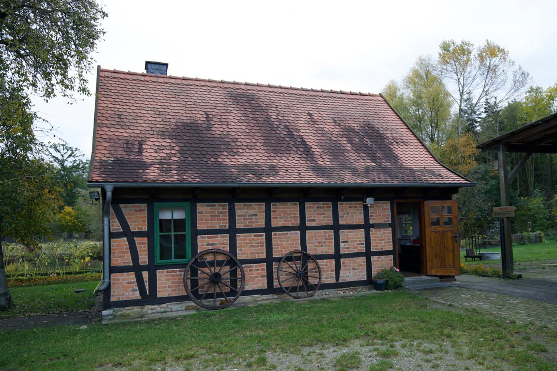 Nebengebäude des Museums für Grenze und Landwirtschaft in Böckwitz