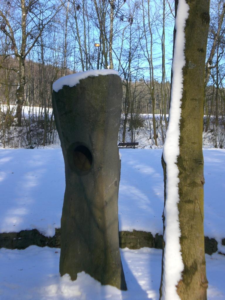 Summstein im Schnee