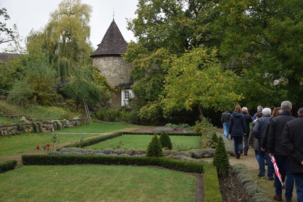 Klostergarten an der Abtei Marienmünster