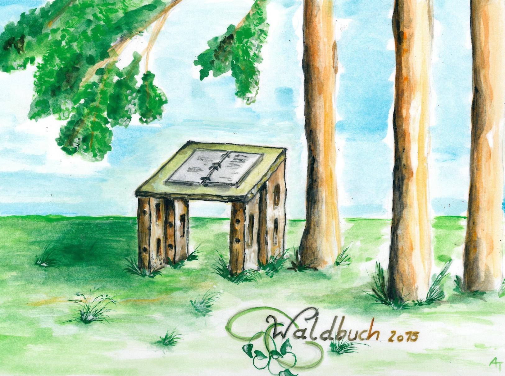 Zeichnung Naturbuch