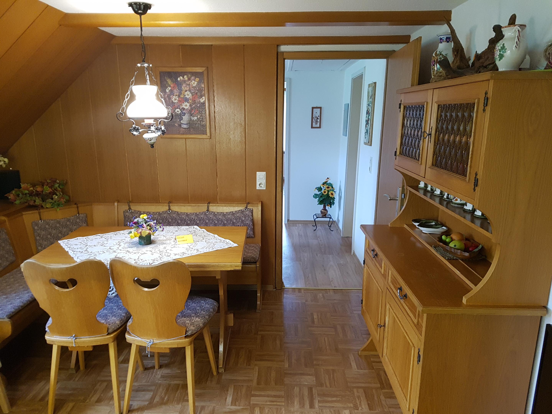 Haus Sonnenschein, Wohnküche-Ferienwohnung