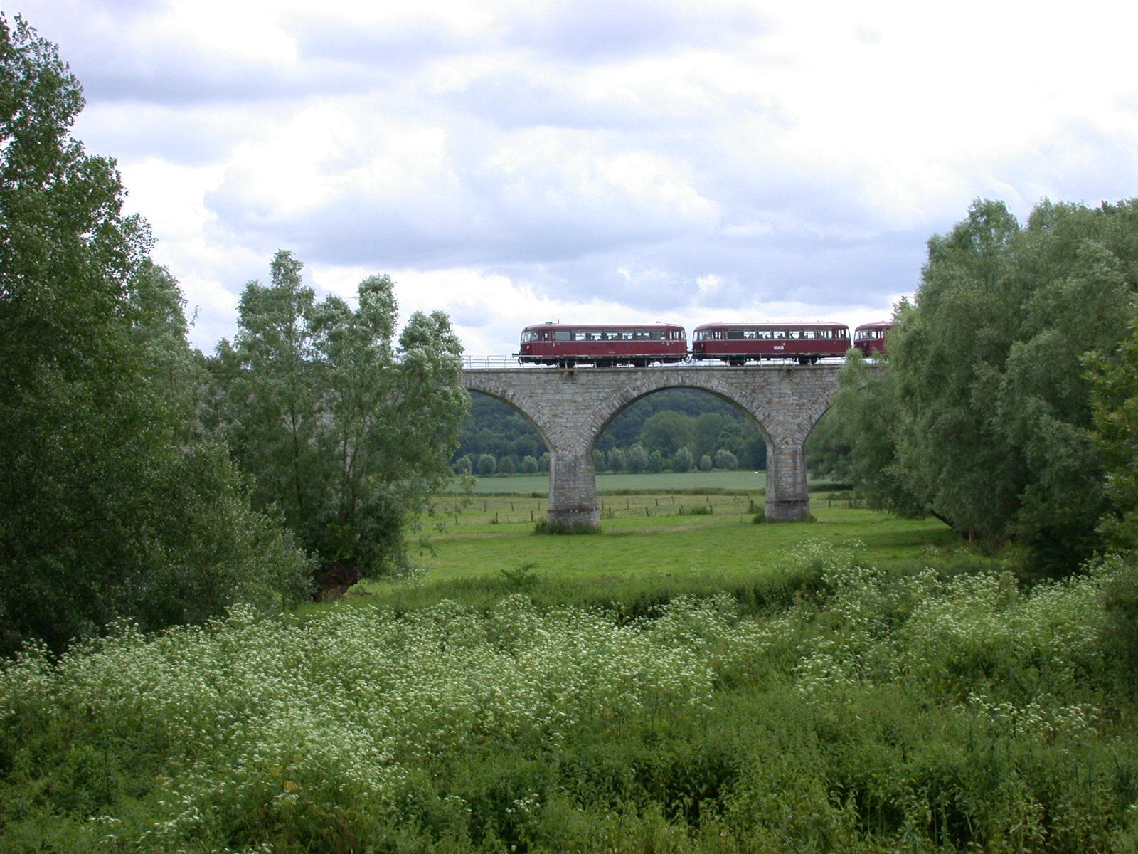 Eisenbahnviadukt bei Ahden