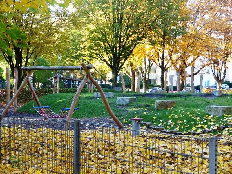 Spielplatz im Riemekepark