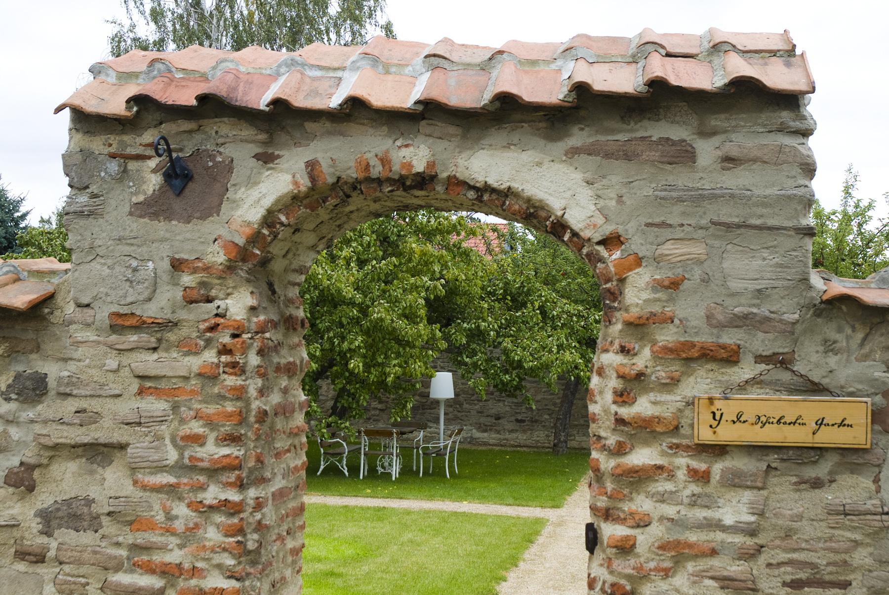 Kloster Drübeck Eingang Stiftsgarten
