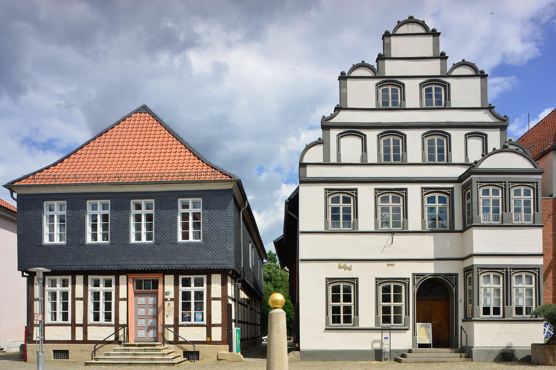 Blick auf den Langen Jammer und das Kavalierhaus
