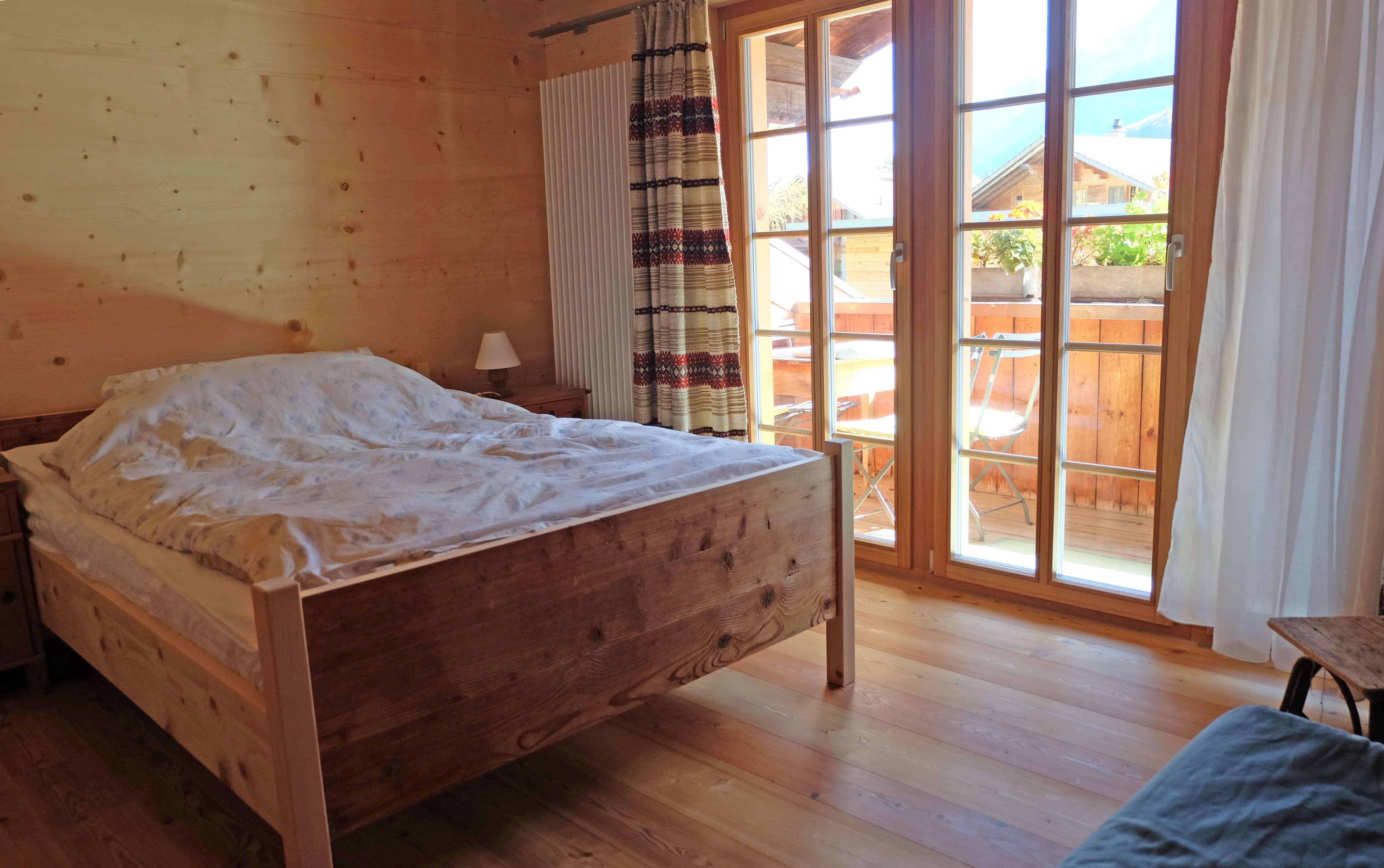 Schlafzimmer Balkon