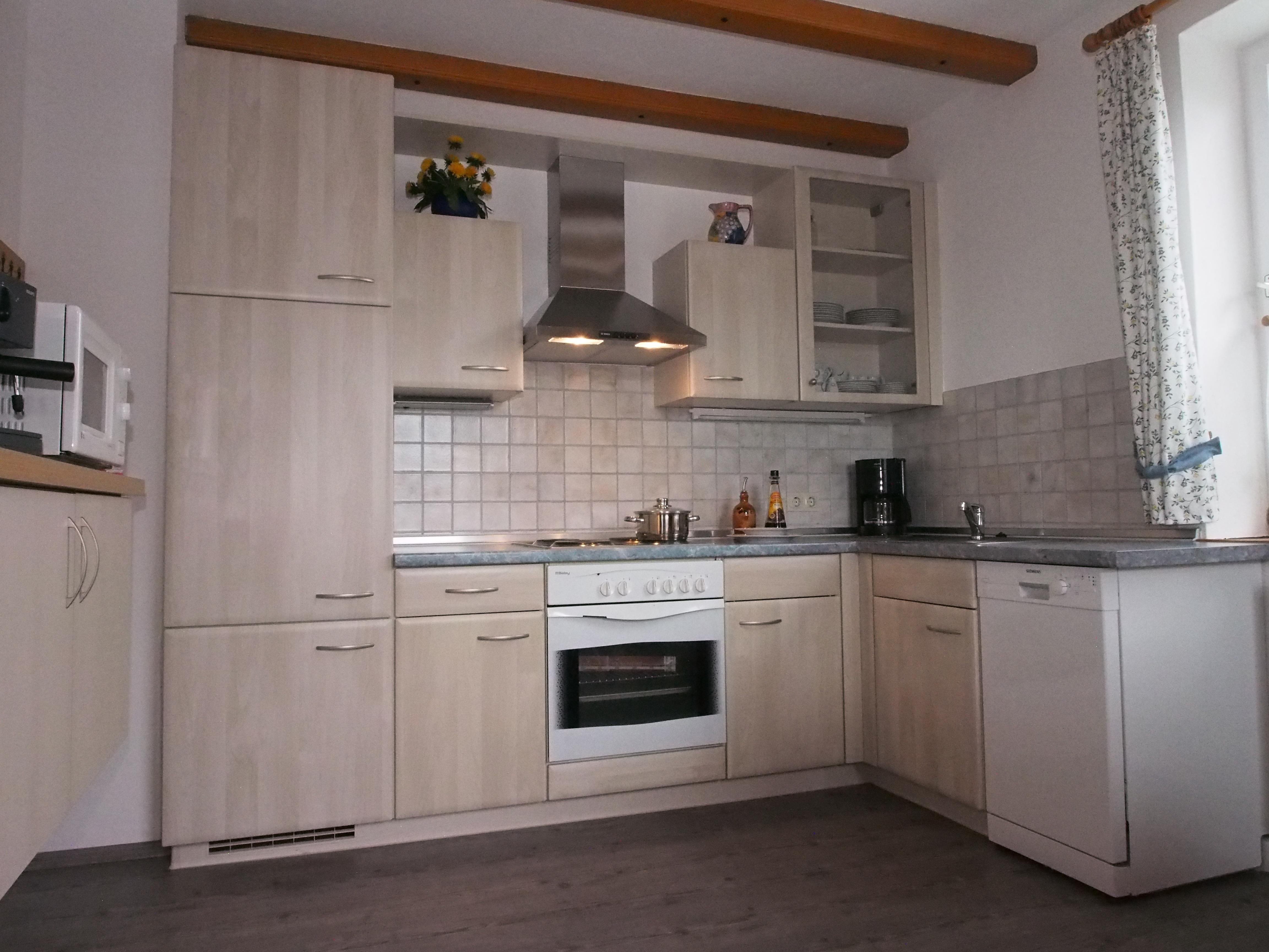 Ferienwohnung Rittler, Küche