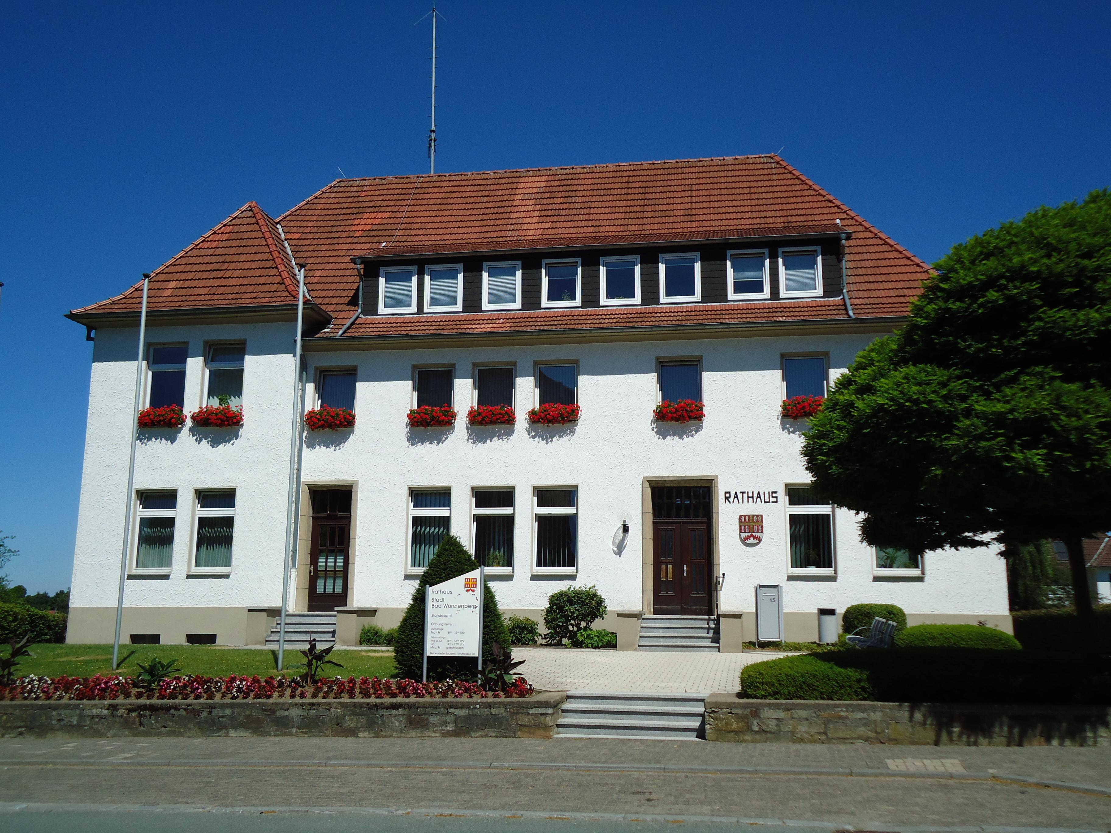 Rathaus Bad Wünnenberg