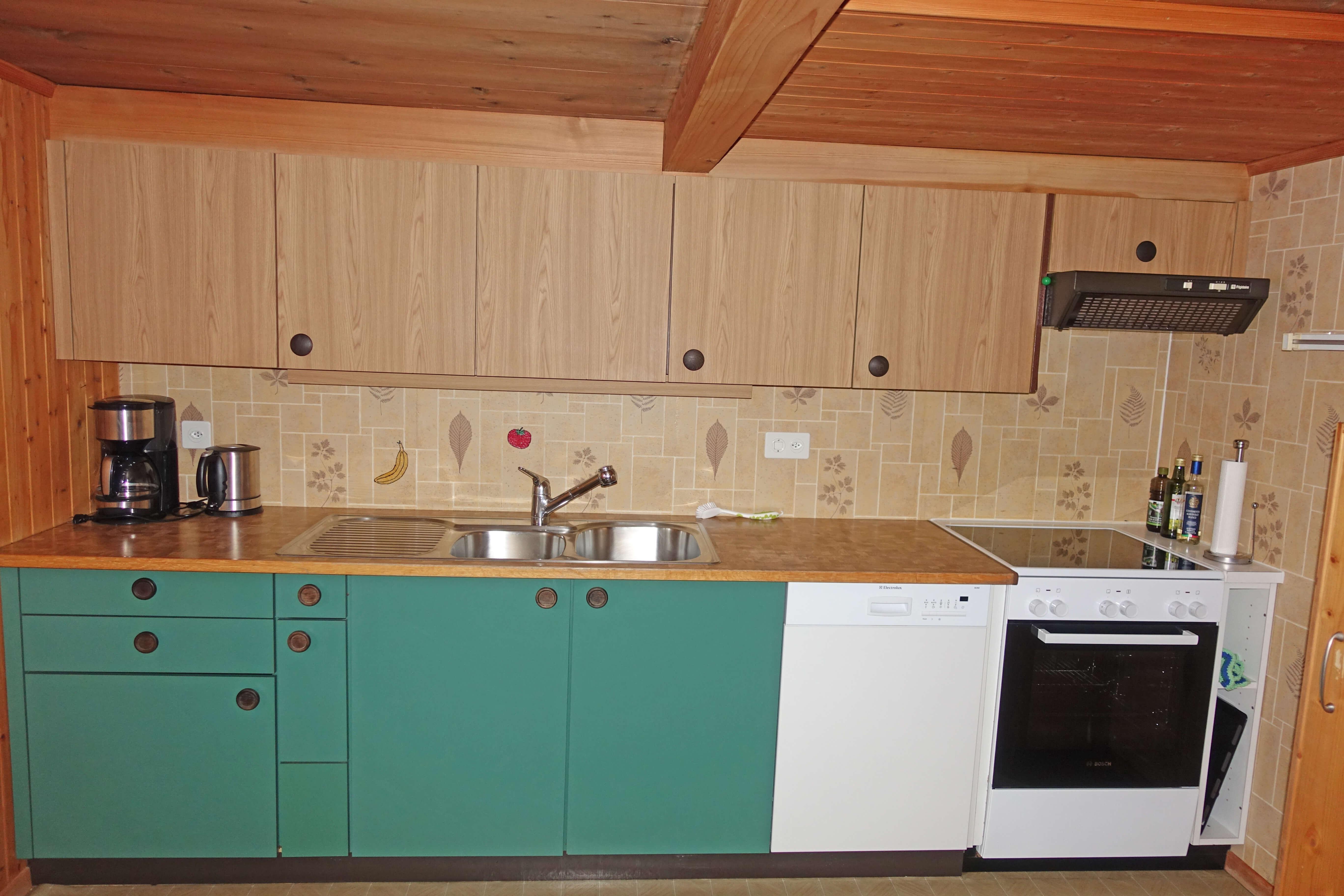 Küche Abwaschmaschine Backofen Chrützhof