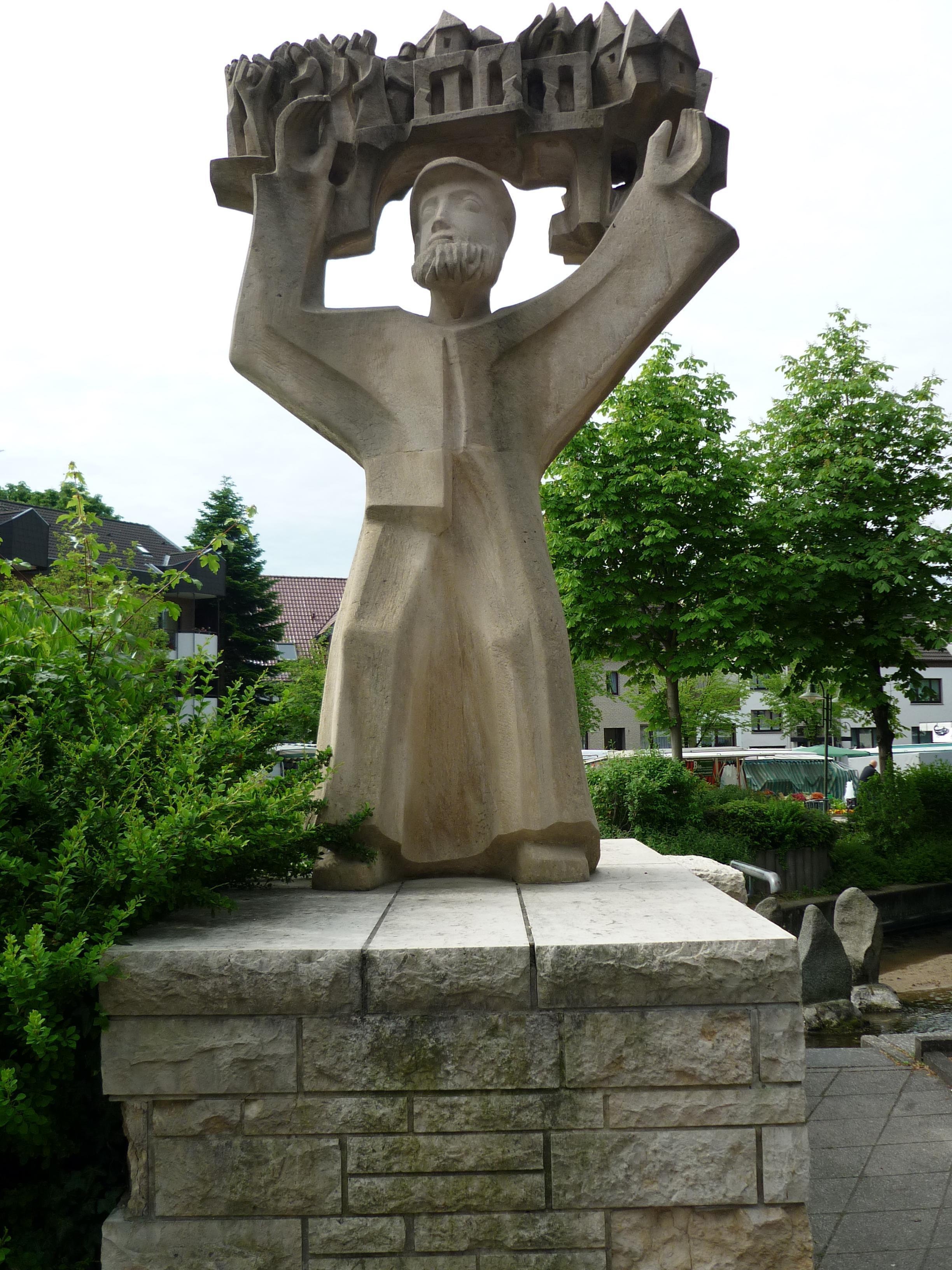 Denkmal `Mechanikus` Bad Lippspringe