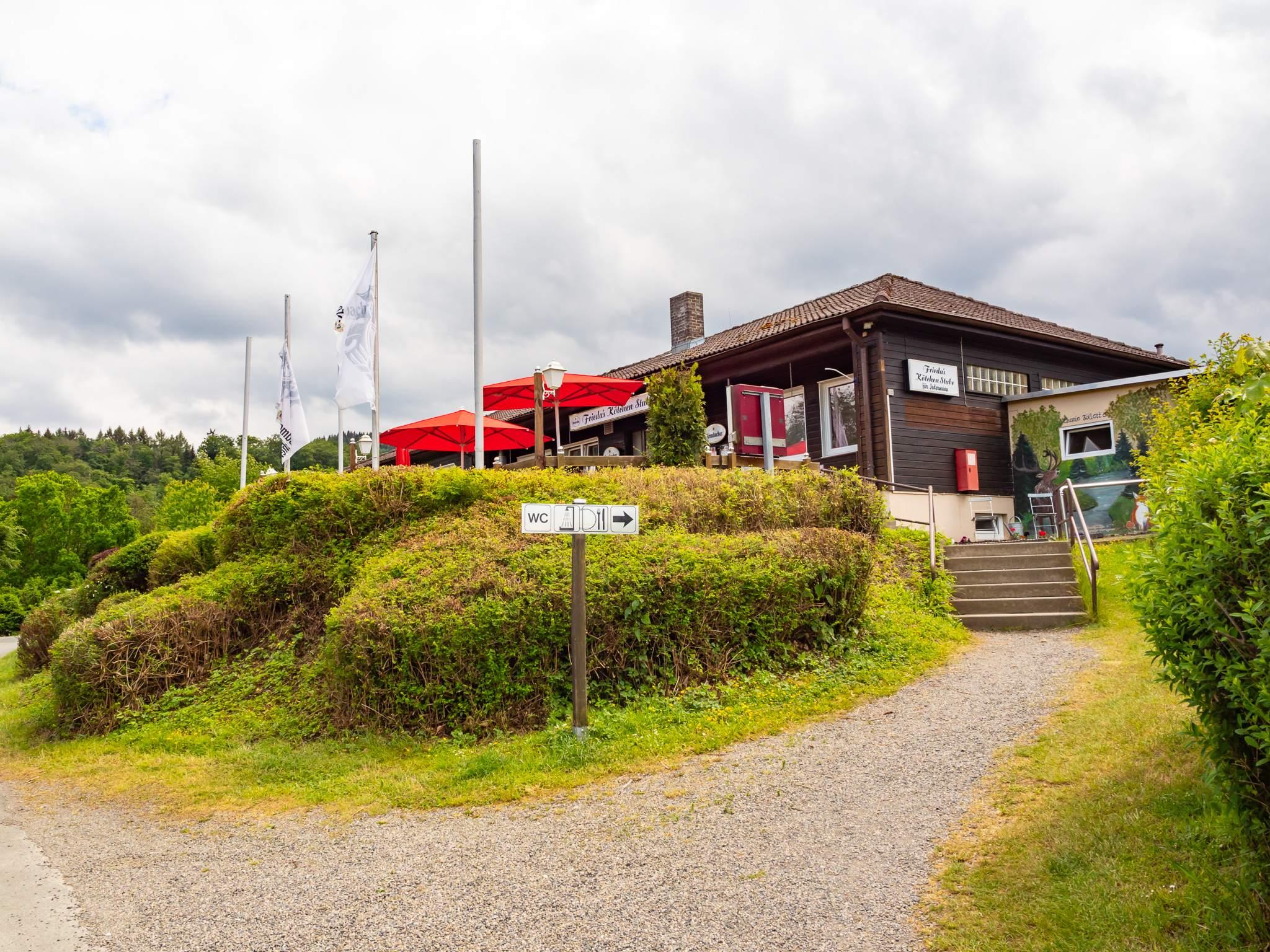 Campingplatz am Krähenberg in Wolfshagen - Gaststätte