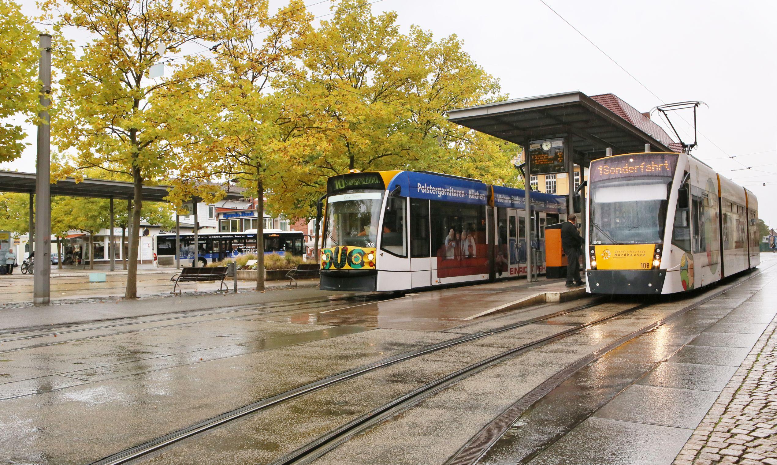 Straßenbahnen in Nordhausen