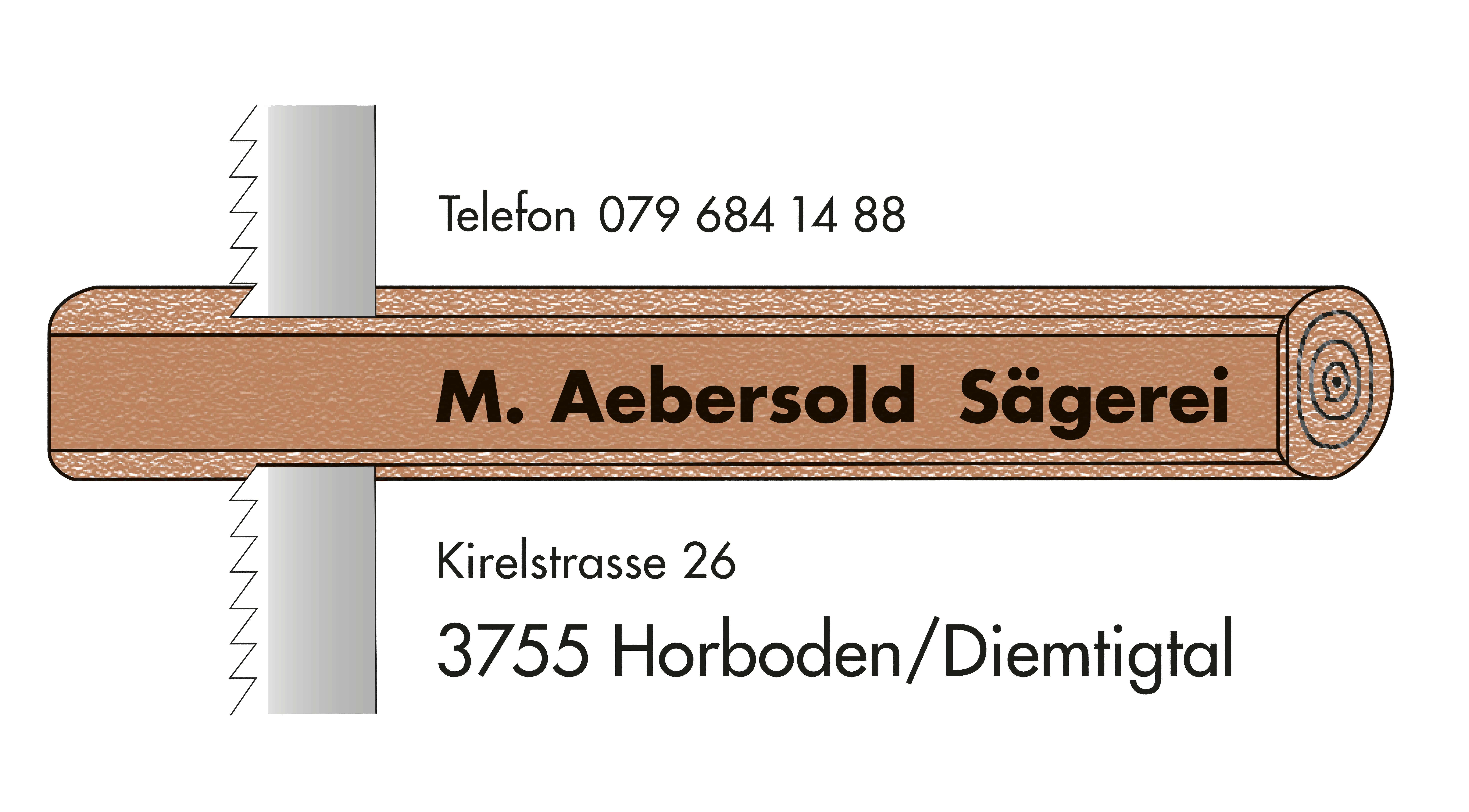 Logo Aebersold Sägerei