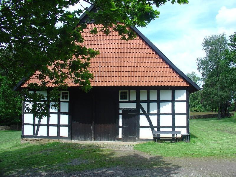 Nebengebäude auf dem Museumshof