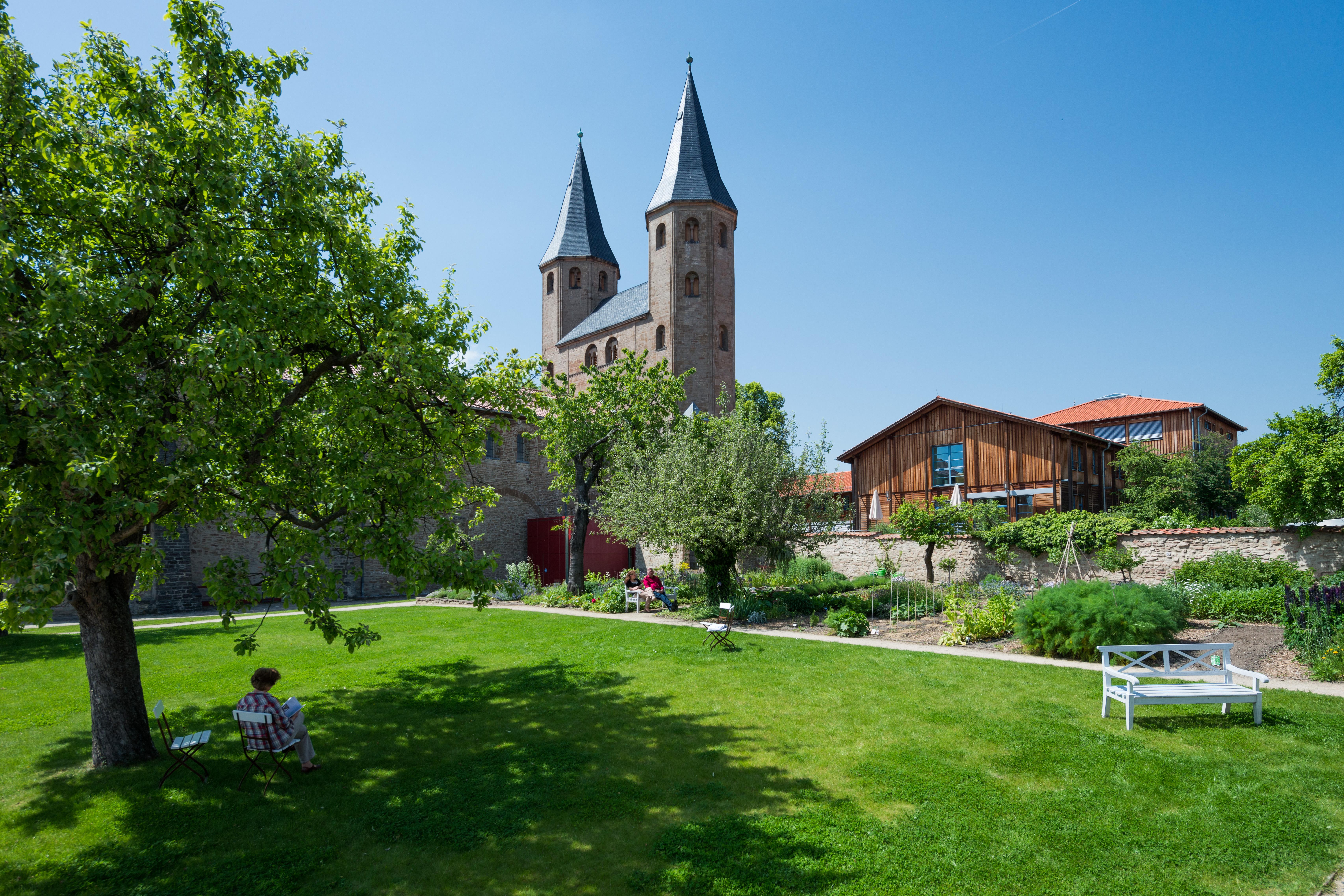 Kloster Drübeck Ansicht Garten