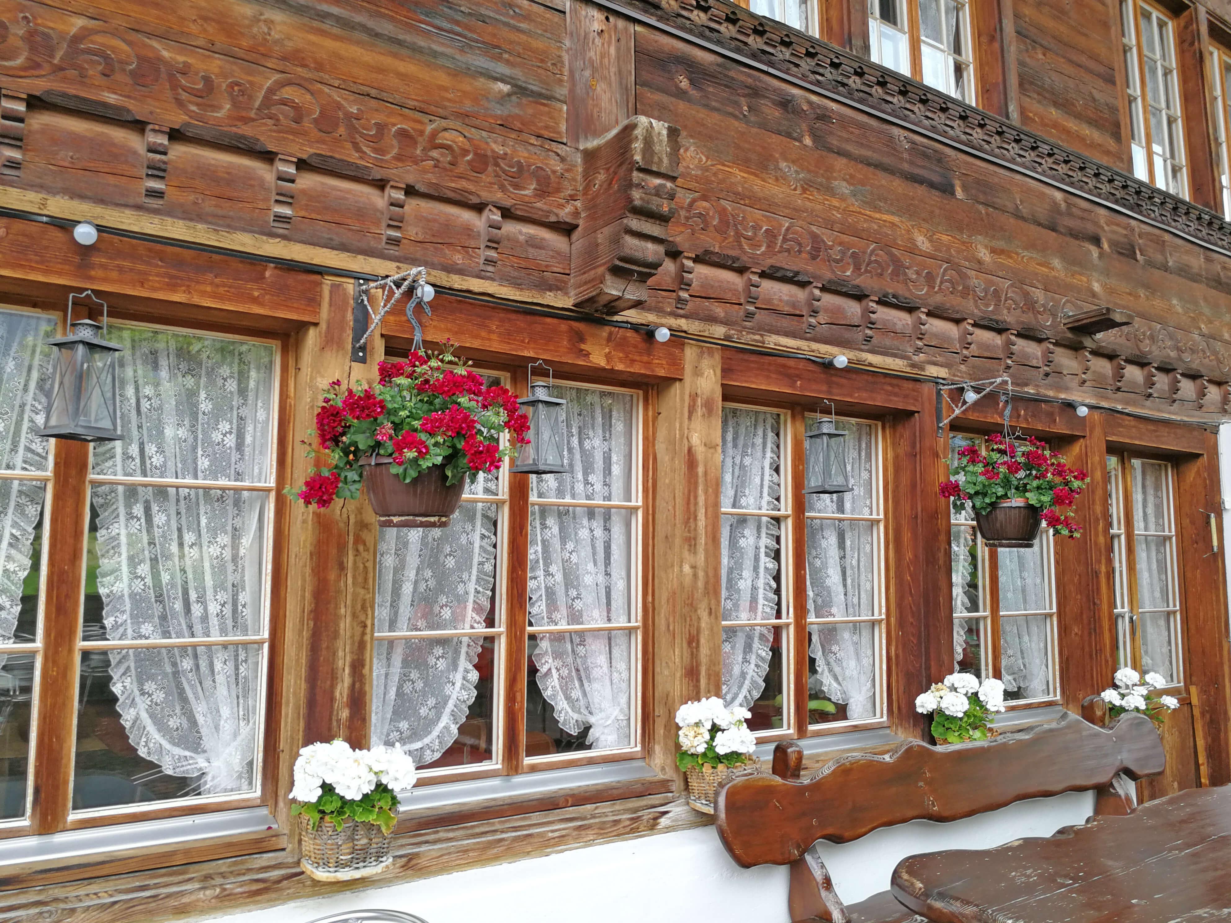 Restaurant Hirschen Diemtigen Fenster