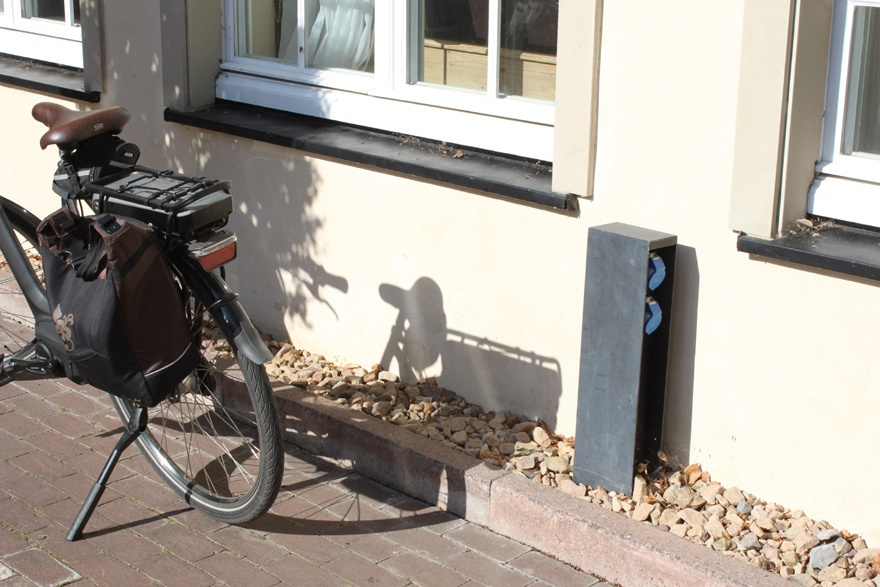E-Bike-Ladesteckdosen am Klosterhof
