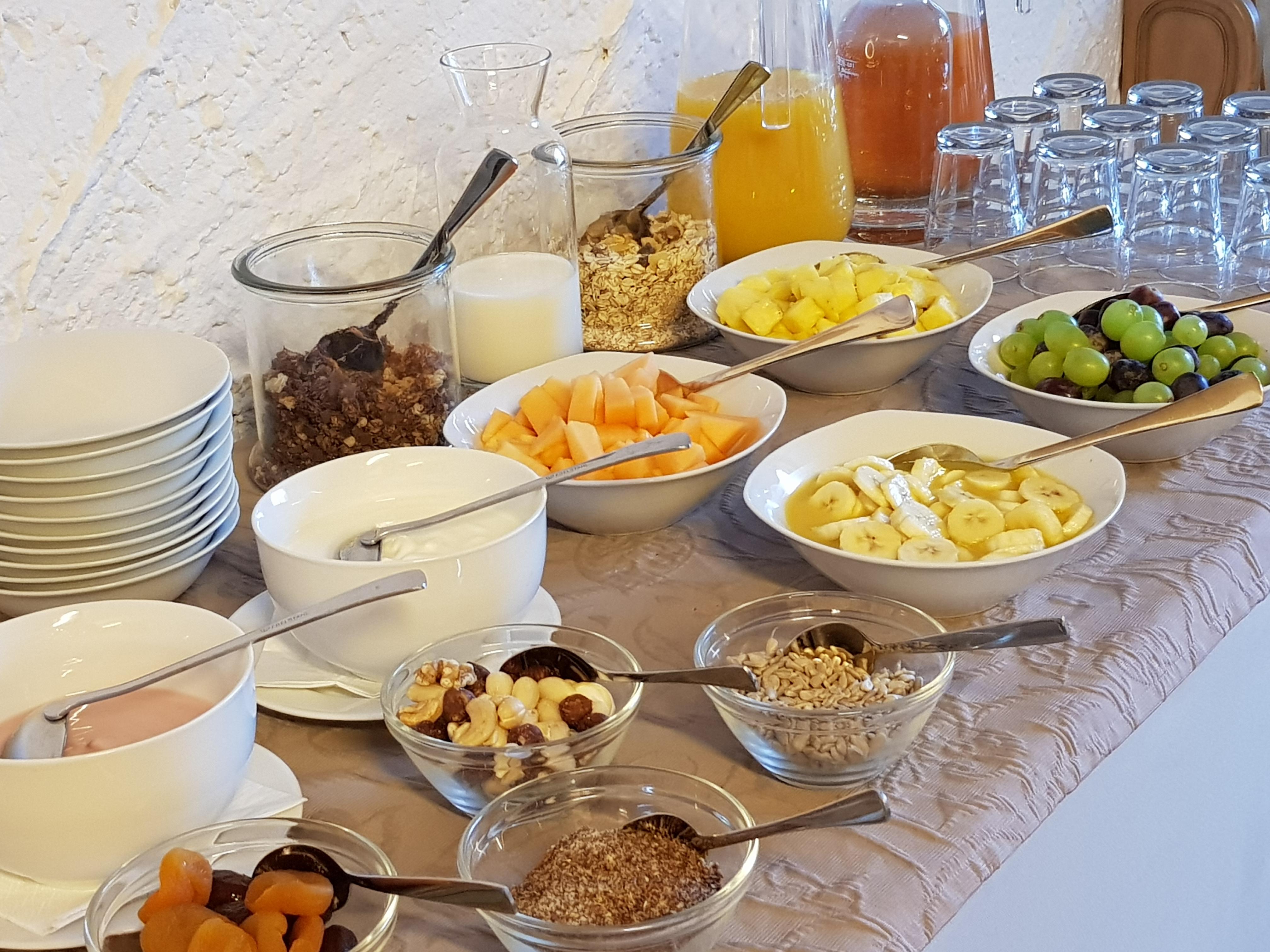 Schönblick Hotel Garni - Ferienwohnungen, Frühstücksbüffet