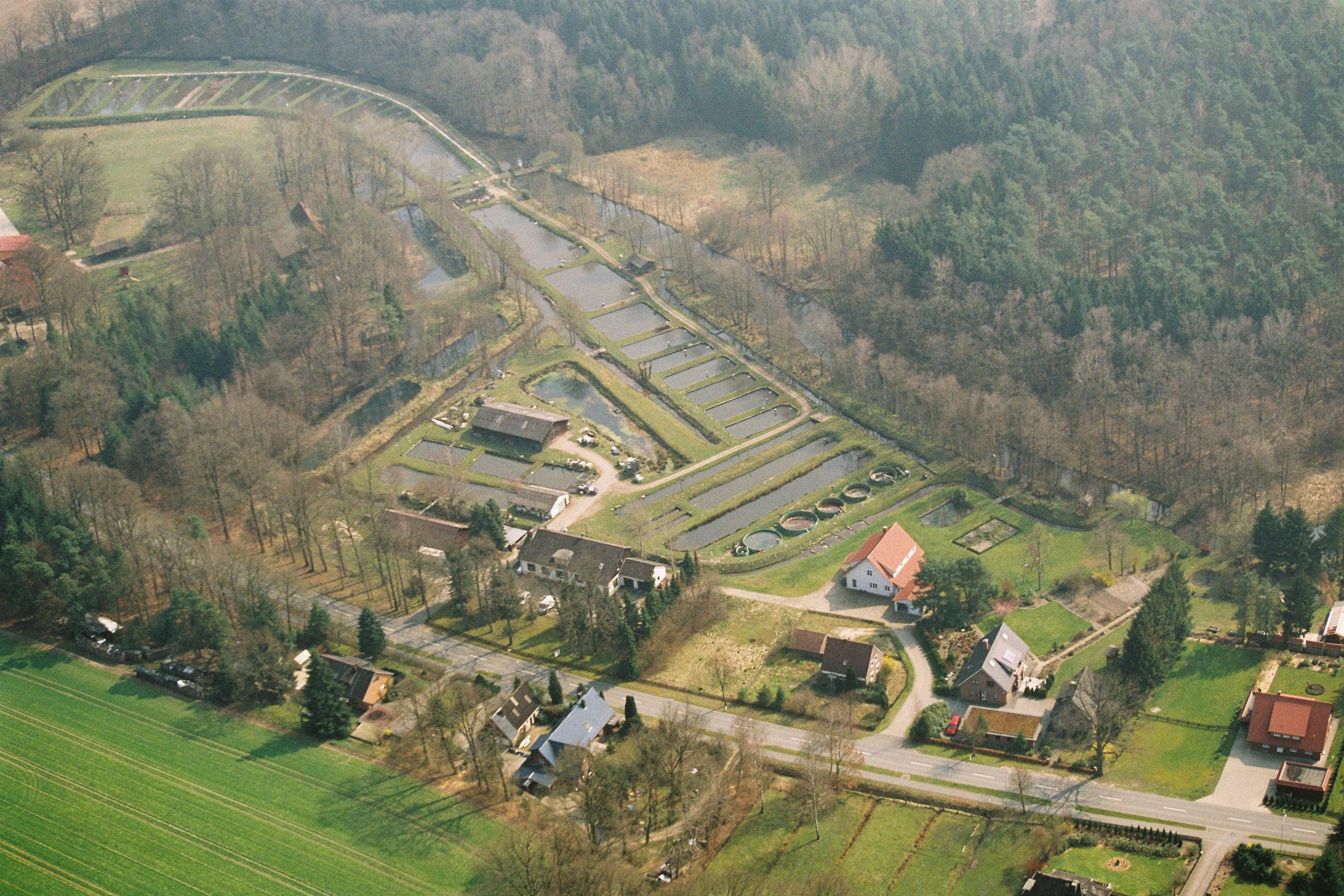 Luftbild vom Grevenhof