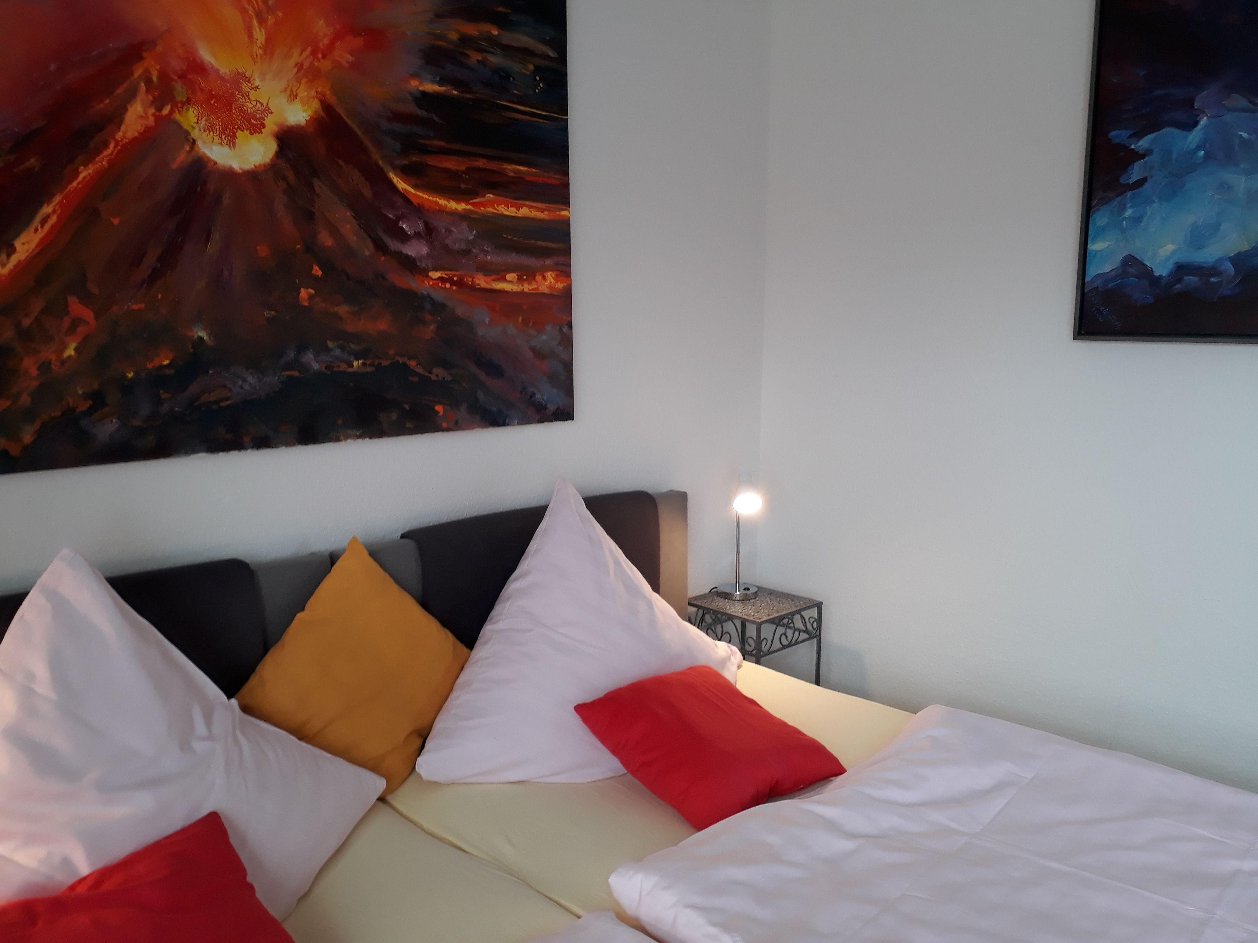 Dachgeschosswohnung 5, Schlafzimmer
