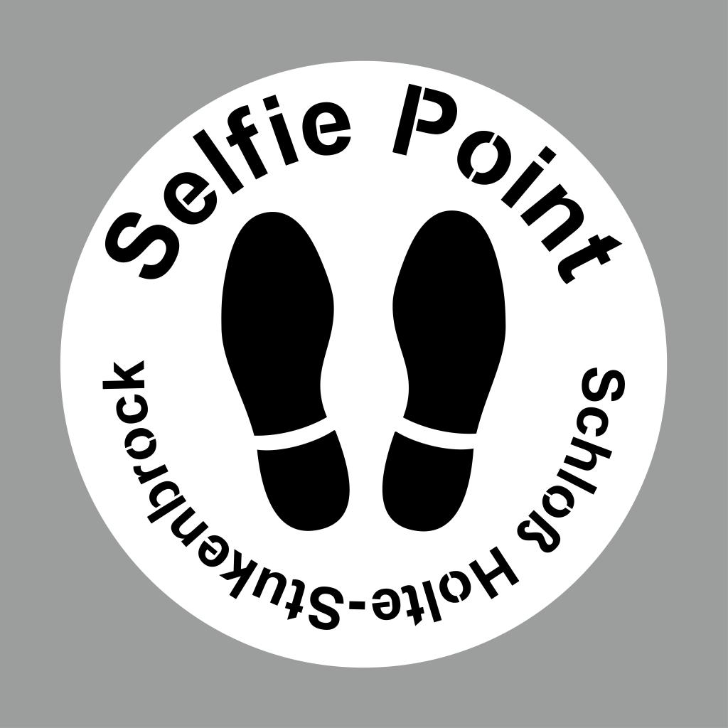 Selfie Point Schablone