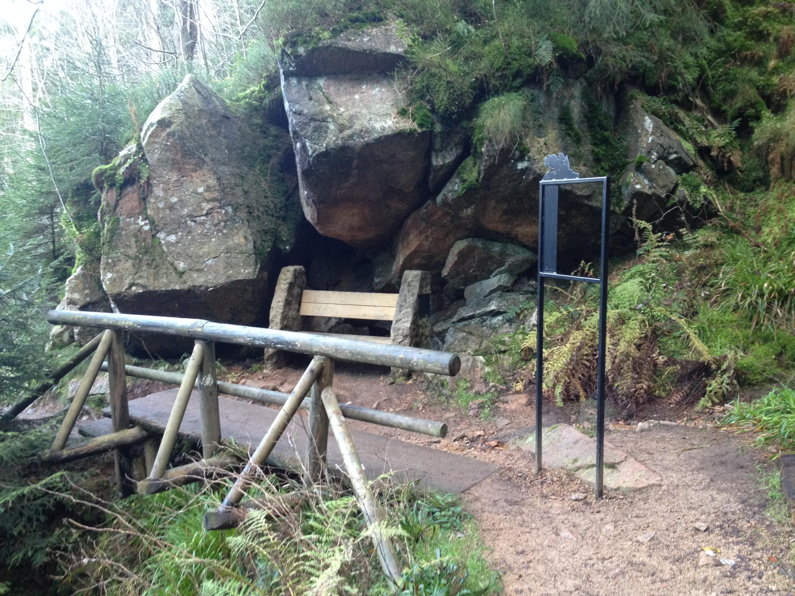 Erlebnisinsel Steile Wand