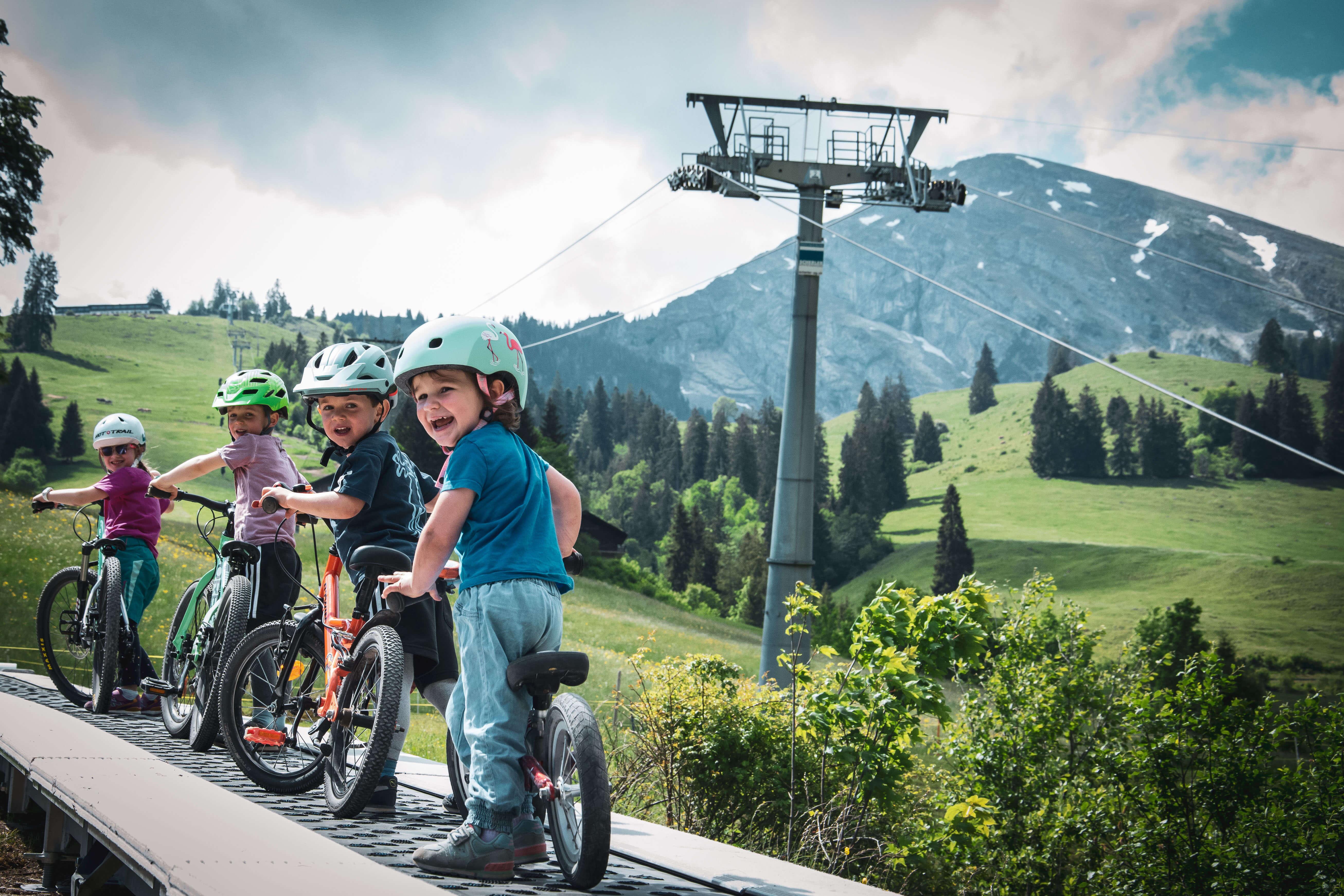 Förderband Bikepark Wiriehorn